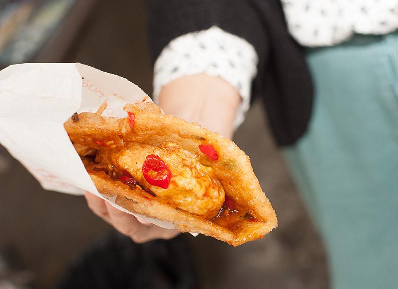 「徐媽媽」蔥油餅,花蓮的午後浪漫